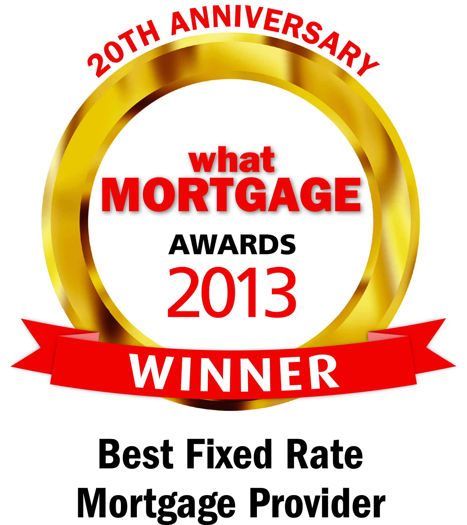 Best fixed rate mortgage provider award 2013