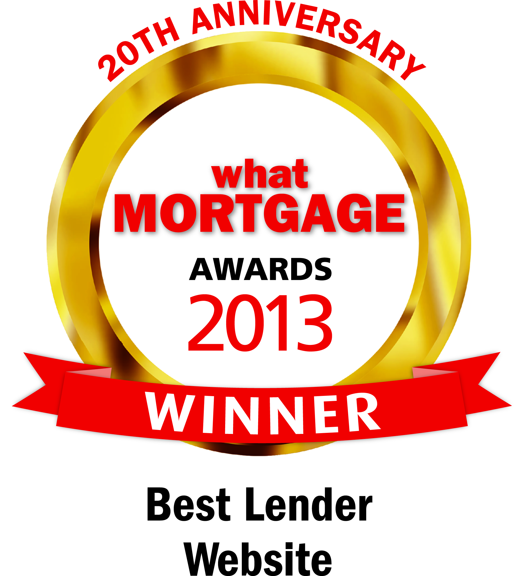 Best mortgage lender website award 2013