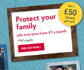 Life insureance from £7 a month.