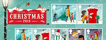 get your Christmas stamps