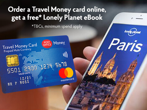 Post Office Travel Money Card and smart phone app