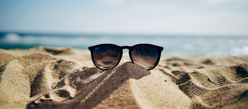 On a sunny holiday, a great pair of sunglasses is one of the most important things you can pack.