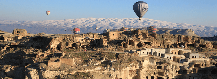 Cappadocia with Hot air balloon