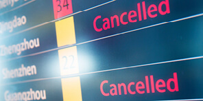 Find out how to claim compensation for delayed or cancelled flights.
