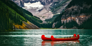 Canadian Kayak and Lake