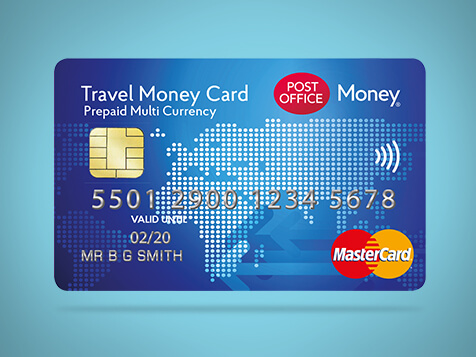 Travel money card prepaid currency card post office for Best home office video cards