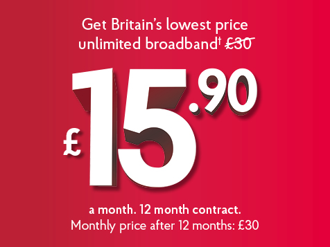 UK Daily Deals: Post Office Unlimited Broadband for £15.90 per Month, Designer Brands for up to 60% Less at TK Maxx - IGN