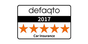 Car Insurance Defaqto five star carousel logo 2017