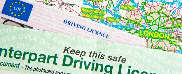 Old uk paper driving licence still validating