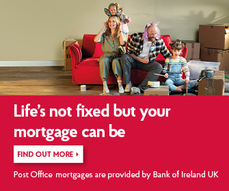 Fixed rate mortgages at Post Office