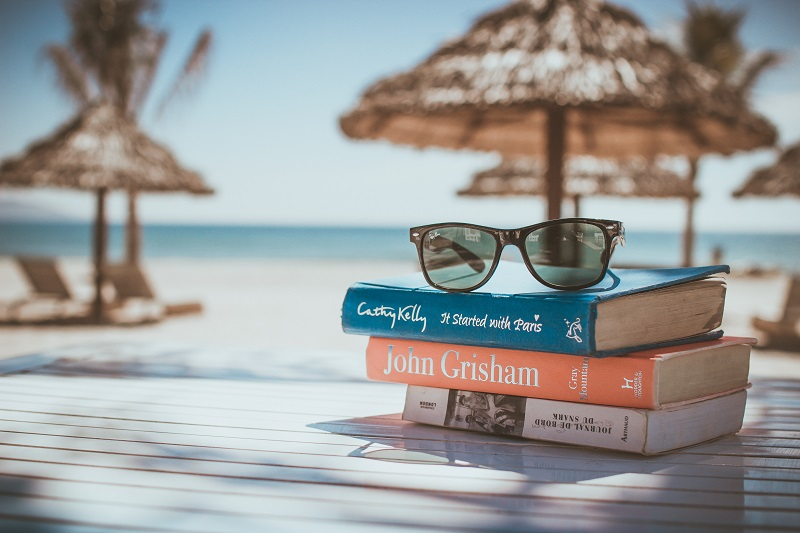 For pool or beach-based holidays, taking enough reading material to last the full trip, such as books and magazines, is a travel essential.