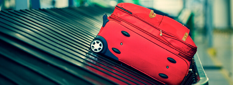 Check what the claim process is for compensation for any bags that are lost, delayed or damaged.