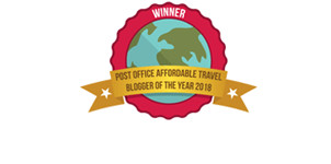 Post Office Affordable Travel Blogger of the Year 2018