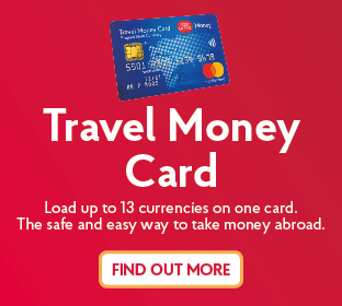Travel apps - Money Card, Currency Converter | Post Office®