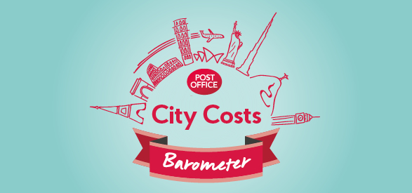 Post Office city costs barometer logo
