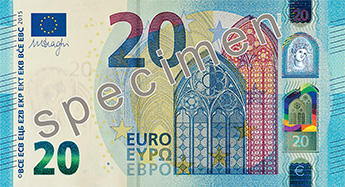 New Euro Note   Post Office Money