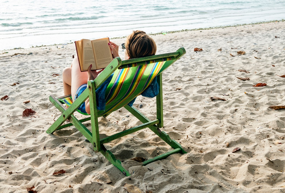 If you plan to soak up hours of sun on holiday then you may want to add books and magazines to your beach packing list.