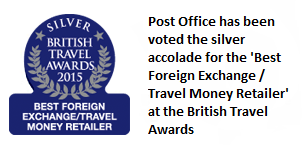 British Travel Awards 2014 - Best Foreign Exchange/Travel Money Retailer