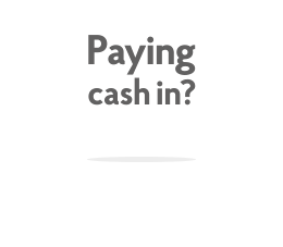 Paying cash in? Access your high street bank account. Use any of our 11,500 Post Office branches.