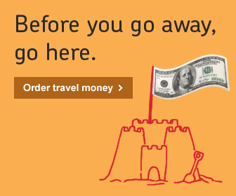 Travel Money promo - US Dollars