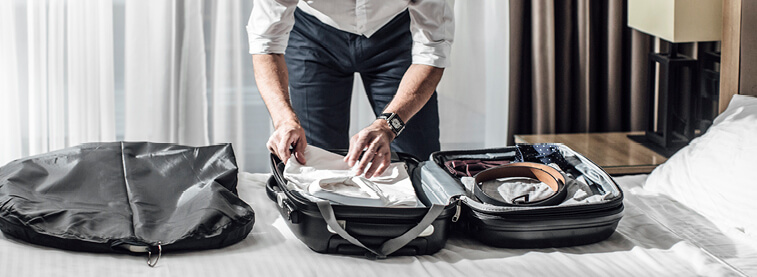 Tick everything off our list of travel essentials for men. From clothes to male accessories, our guide can help prepare you for your trip abroad.