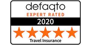 Defaqto award 2020 - Best Online Travel Insure Provider - Post Office