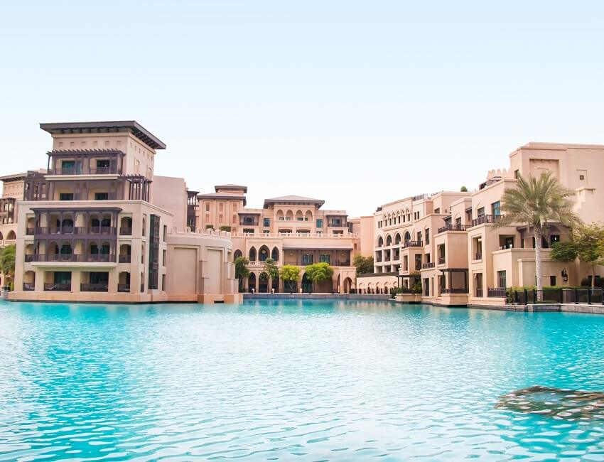 For winter sun you can depend on Dubai to be hot in December. Visit there and you can expect around eight hours of sunshine every day,