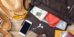 A list of essential travel items to make travelling hassle-free.