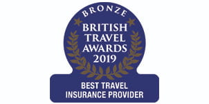 Bronze - British Travel Awards 2019 - Best Travel Insurance Provider