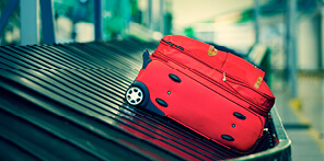 Find out how to claim in the event your luggage is  lost, delayed or damaged.