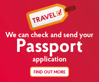At Post Office we can check and send you Passport application. Find out more here at www.postoffice.co.uk/passport-check-send