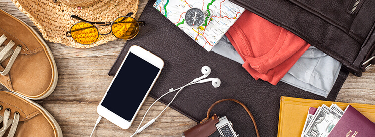 Travelling can be stressful, follow our guide to travel necessities for hassle-free travel.