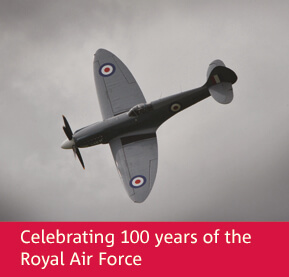 Royal Mint celebrates 100 years of the Royal Air Force