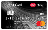 Post Office Money Mastercard credit card