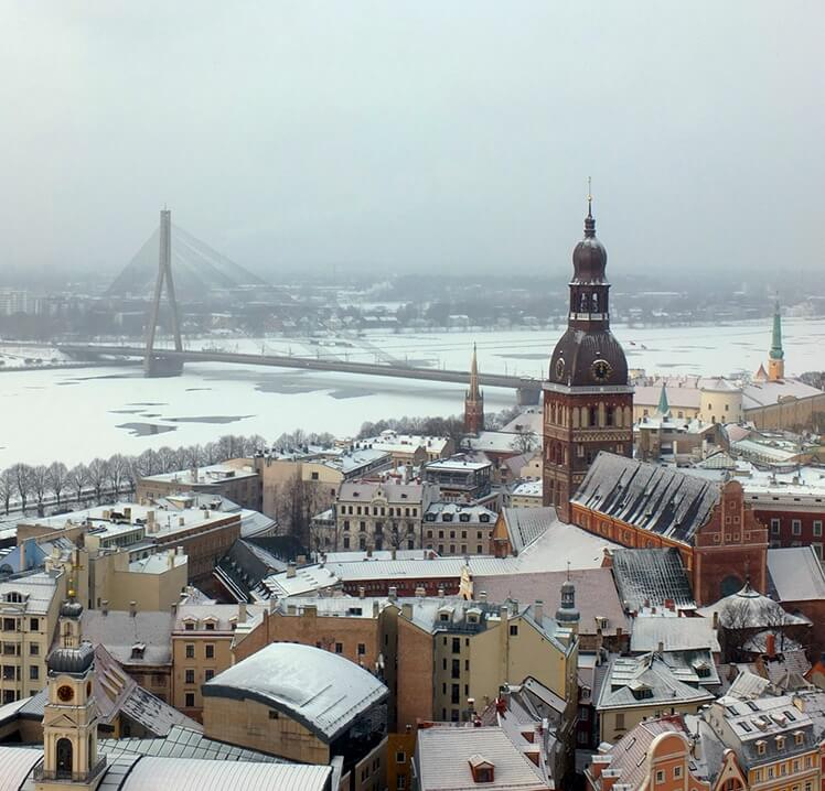 City break tips - Riga, in Latvia is as a foodie travel destination and home of Europe's largest food market.