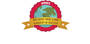 Post Office Travel and Food Blogger of the Year 2018