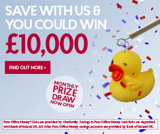 Savings Prize draw