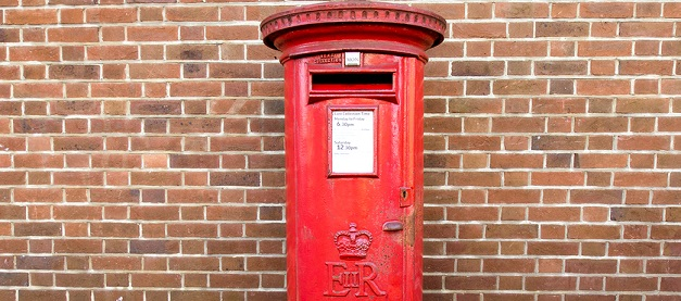 Royal Mail Letter Box.Royal Mail 500 Post Office